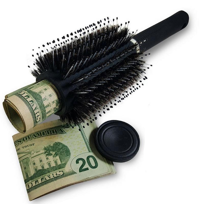 Haarborstel met verborgen ruimte - Berg je geld of waardevolle spullen op