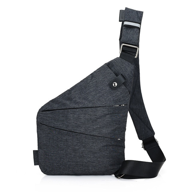 Multifunctionele Anti-diefstal Schoudertas - Crossbody Tas - Chest Pouch